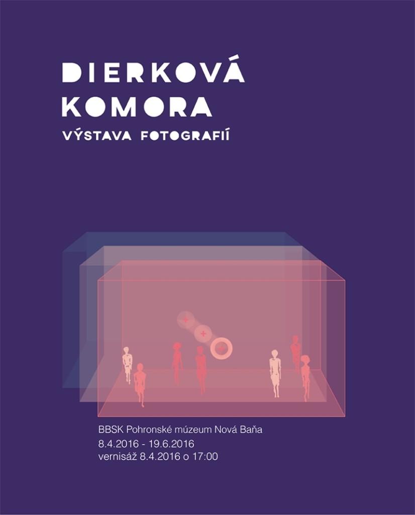 Plagát k výstave Dierková Komora